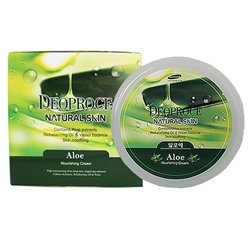 "Крем д/лица ""Алоэ"" DEOPROCE Natural Skin Aloe Nourishing cream 100гр./ №1229"