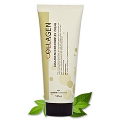 ESTHETIC HOUSE КОЛЛАГЕН И РАСТИТ. ЭКСТРАКТЫ_Крем для лица COLLAGEN HERB COMPLEX CREAM, 180 мл