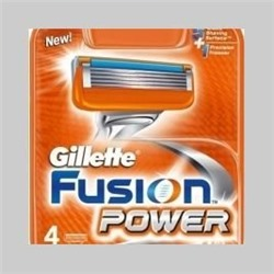 Gillette fusion power 4 кассет