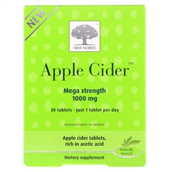 New Nordic, Apple Cider, 1,000 mg, 30 Tablets