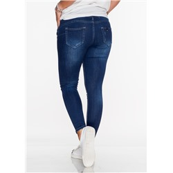 Włoskie jeansy GLAMOUR push up DENIM