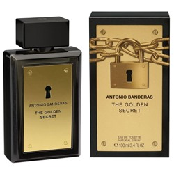 Antonio Banderas The Golden Secret For Men edt Original