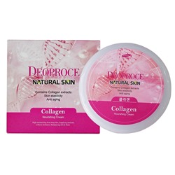 "Крем д/лица ""Коллаген"", DEOPROCE Natural Skin Collagen Nourishing cream 100 гр №1230"