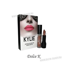 "Помада+блеск Kylie "" Fashion Charm Lips"" (1шт), 5.00